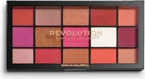 Makeup Revolution, Reloaded Red Alert, paleta cieni do powiek