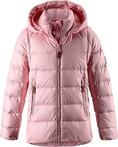 Różowa kurtka dziecięca Reima dla dziewczynek