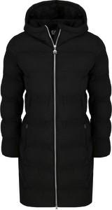 Czarna kurtka EA7 Emporio Armani długa