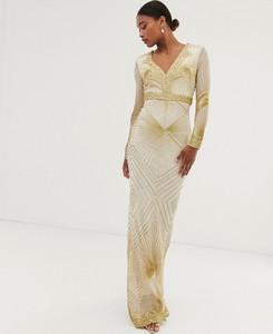 Sukienka City Goddess z długim rękawem