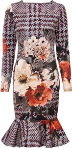 Sukienka bonprix mini w stylu casual z długim rękawem