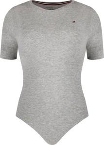 Bluzka Tommy Hilfiger z okrągłym dekoltem z krótkim rękawem
