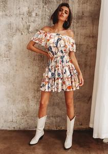 Sukienka Latika mini hiszpanka