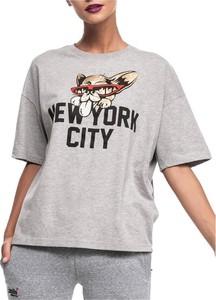 T-shirt Superdry z krótkim rękawem z okrągłym dekoltem w młodzieżowym stylu