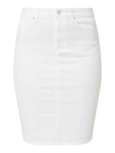 Spódnica Gant z jeansu mini w stylu casual