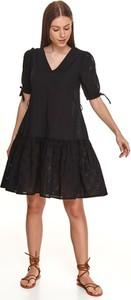 Sukienka Top Secret mini z dekoltem w kształcie litery v