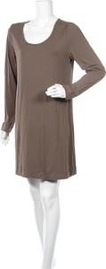 Sukienka Signal Meble mini z długim rękawem prosta