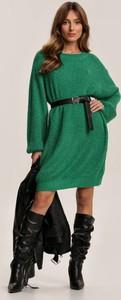 Zielona tunika Renee z długim rękawem