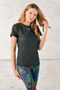 T-shirt Nessi Sportswear z okrągłym dekoltem z krótkim rękawem