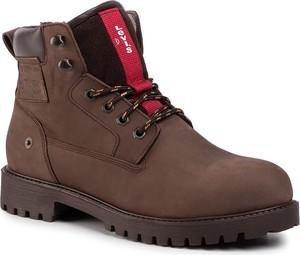 Brązowe buty zimowe Levis