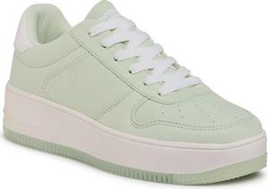 Zielone buty sportowe Sprandi