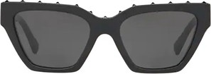 Czarne okulary damskie Valentino