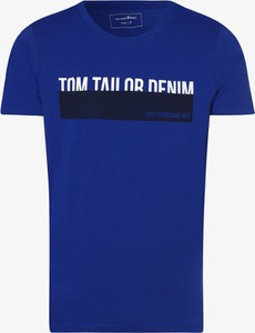 T-shirt Tom Tailor Denim w młodzieżowym stylu