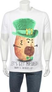 T-shirt Dunnes Stores w młodzieżowym stylu z bawełny