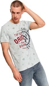 T-shirt Top Secret z krótkim rękawem z nadrukiem