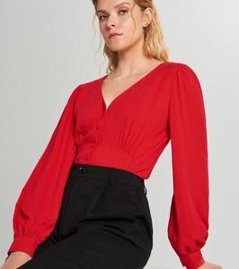 Bluzka Cropp z długim rękawem