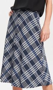 Niebieska spódnica Reserved w stylu casual