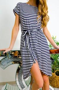Sukienka Olika asymetryczna w stylu casual mini