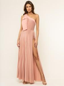 Różowa sukienka Elisabetta Franchi maxi