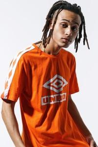 Pomarańczowy t-shirt Umbro