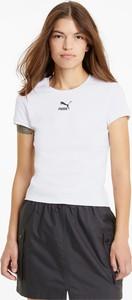 T-shirt Puma z krótkim rękawem w sportowym stylu z okrągłym dekoltem
