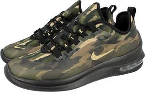 Zielone buty sportowe Nike w sportowym stylu sznurowane