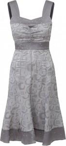 Sukienka POTIS & VERSO rozkloszowana z dekoltem w kształcie litery v mini