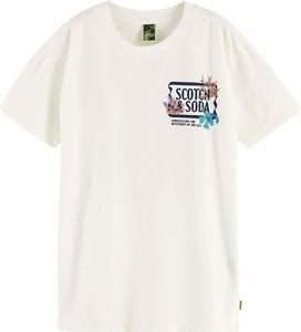 Koszulka dziecięca Scotch & Soda z krótkim rękawem dla chłopców