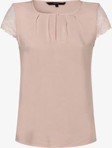 Bluzka Vero Moda z krótkim rękawem z okrągłym dekoltem w stylu casual