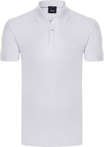 778f1a7cbb973 Białe koszulki męskie Hugo Boss, kolekcja wiosna 2019