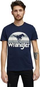 T-shirt Wrangler w młodzieżowym stylu z krótkim rękawem