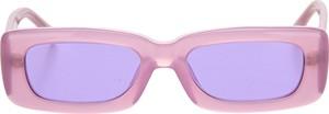 Fioletowe okulary damskie The Attico
