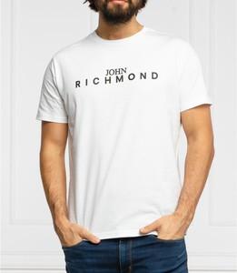 T-shirt John Richmond z krótkim rękawem z bawełny w młodzieżowym stylu