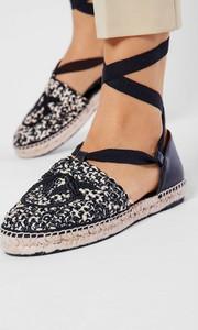Sandały Pinko z tkaniny