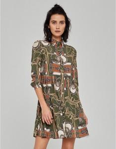 Sukienka Klaudyna Cerklewicz z długim rękawem mini