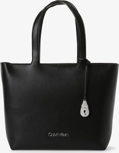 Czarna torebka Calvin Klein duża