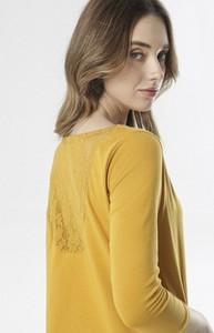Żółta bluzka born2be w stylu casual