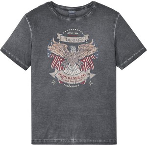 T-shirt bonprix z bawełny w młodzieżowym stylu