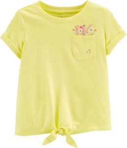 Żółta koszulka dziecięca OshKosh