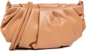 Brązowa torebka DeeZee na ramię duża