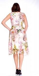 Sukienka Bellezza midi asymetryczna
