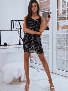 Sukienka Dstreet mini dopasowana na ramiączkach
