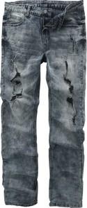 Czarne jeansy Emp w street stylu z bawełny