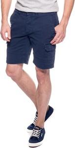 Granatowe spodenki Hilfiger Denim z jeansu