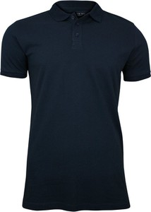 Granatowa koszulka polo Brave Soul z krótkim rękawem w stylu casual