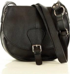 Czarna torebka Merg w stylu glamour