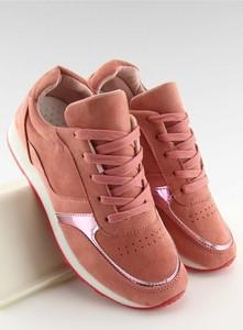Buty sportowe Inello z płaską podeszwą z tkaniny