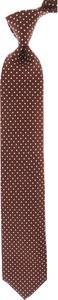 Bordowy krawat Tom Ford
