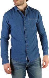 Koszula Calvin Klein z kołnierzykiem button down z bawełny w stylu casual