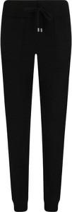 Czarne spodnie Twinset w sportowym stylu